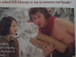 Mr. Tumnus and Lucy